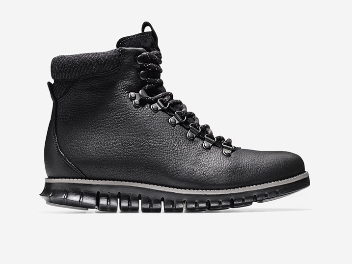 Cole Haan ZerøGrand Hiker Boot Black-Ironstone  C27839