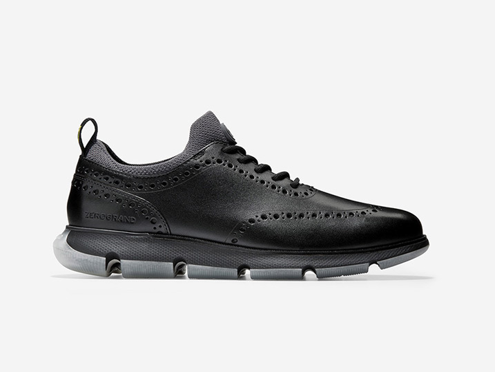 Cole Haan 4.ZERØGRAND Oxford Black/Black  C33452