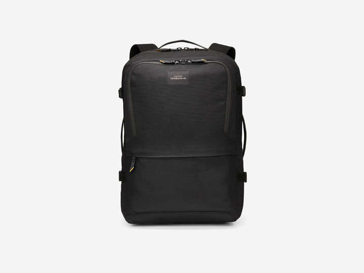 Cole Haan ZERØGRAND 48 hr Backpack Black  F11302