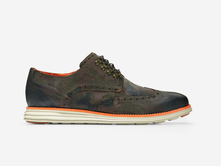Cole Haan ØriginalGrand Wingtip Oxford Olive  C32415
