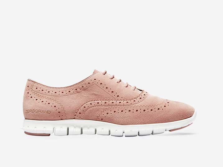 Cole Haan Zerøgrand Wing Ox Pink  W13274