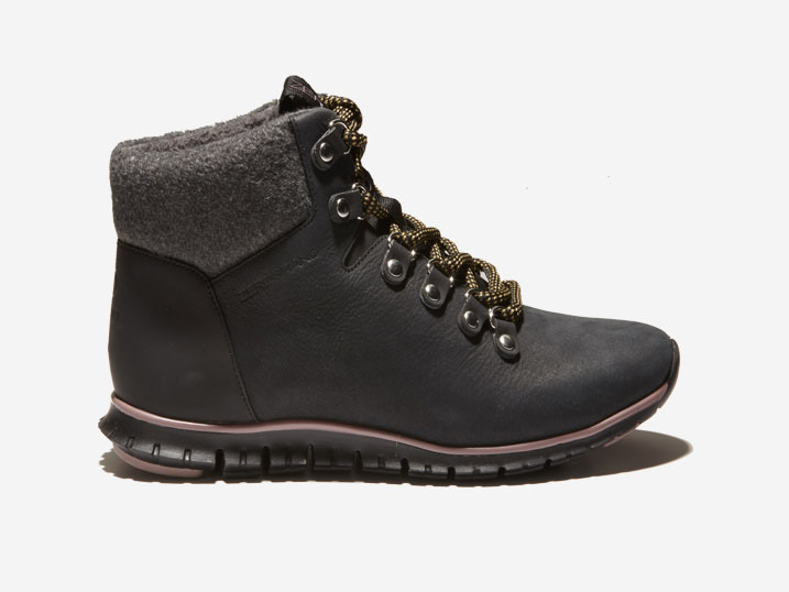 Cole Haan ZerøGrand Hikerboot Black Shearling WP  W13965