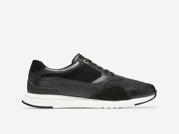 Cole Haan Sneaker GrandPrø Layered Trainer Black   W14250