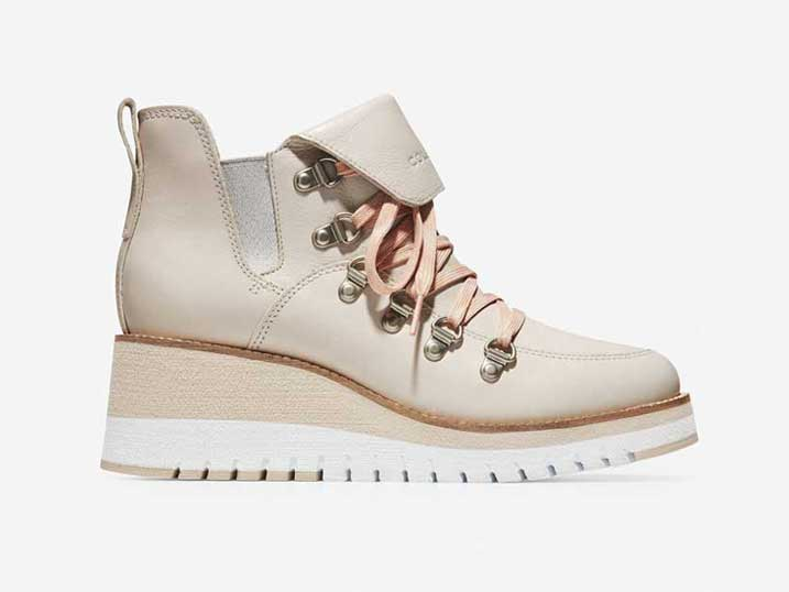 Cole Haan ZerøGrand Wedge Hiker WP Pumic  W15449