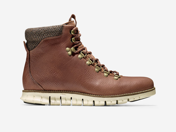 Cole Haan ZerøGrand Hiker Boot Woodbury-Ivory