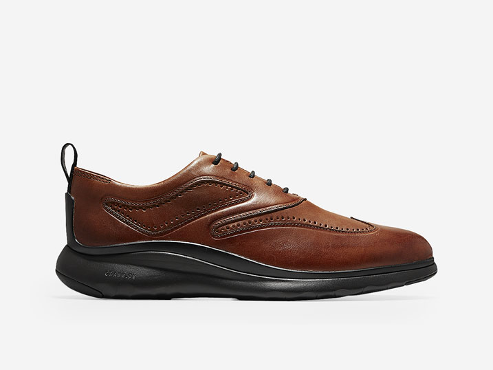 Cole Haan 3.ZerøGrand Wingtip Oxford British Tan