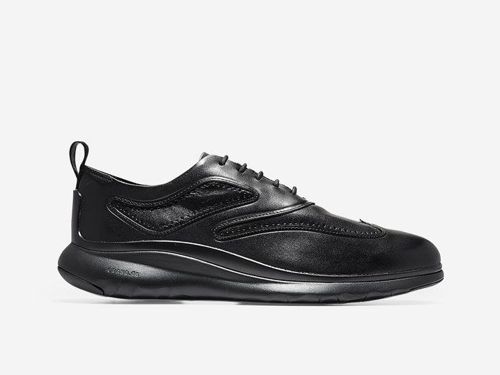 Cole Haan 3.ZerøGrand Wingtip Oxford Black