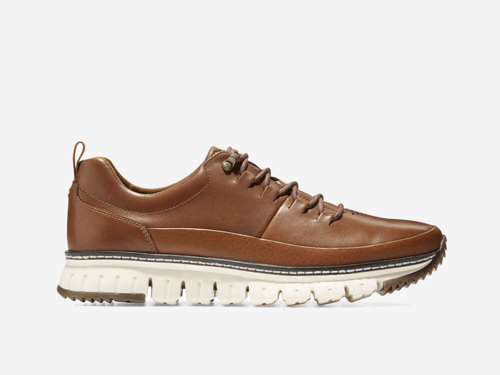 Cole Haan ZerøGrand Rugged Oxford British Tan
