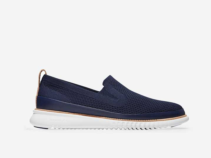 Cole Haan 2.ZerøGrand Stitchlite Slip On Navy