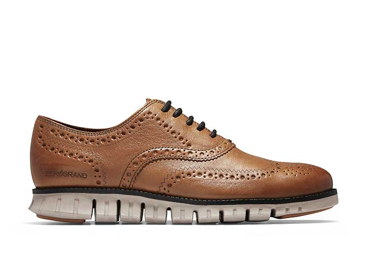 Cole Haan ZERØGRAND Oxford Burnished British Tan