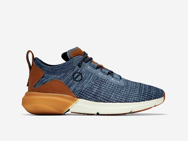 Cole Haan ZERØGRAND All-day Stitchlite Runner Indigo/Navy