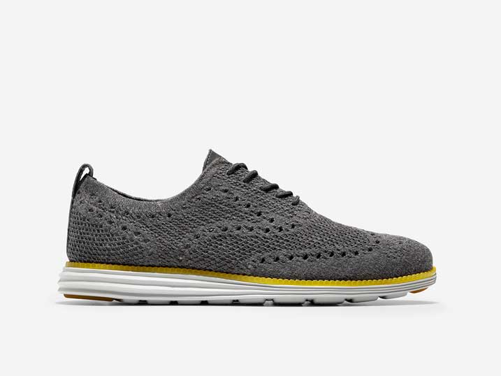 Cole Haan ØriginalGrand Stitchlite Wingtip Oxford Vintage Shade/Gray