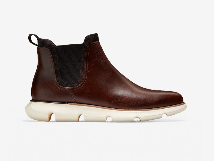 Cole Haan 4.ZEROGRAND Chelsea WP Earthen Ivory