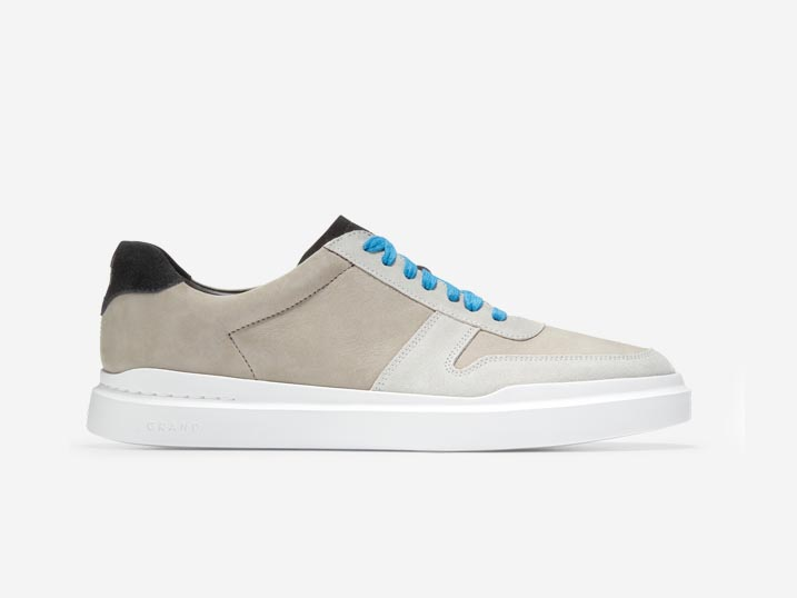 Cole Haan GrandPrø Rally Court Sneaker Masonary/Blue Lemon