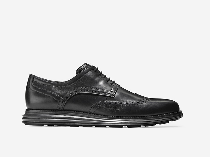 Cole Haan ØriginalGrand Wingtip Oxford Black/Black