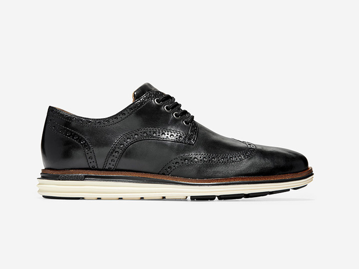 Cole Haan ØriginalGrand Wing Ox Luxury Black/Ivory