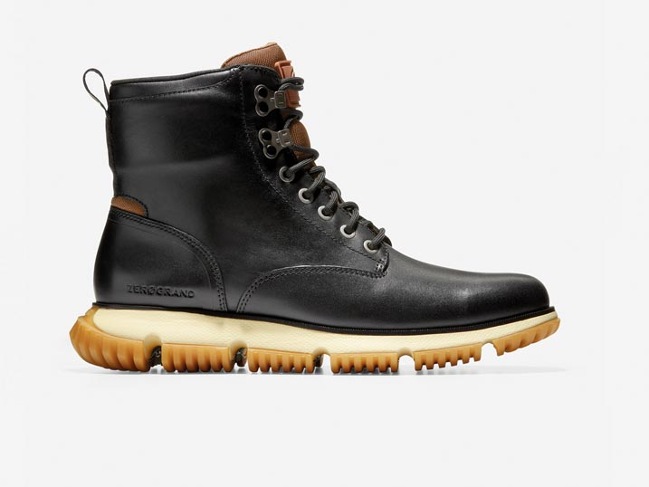 Cole Haan 4.ZERØGRAND City Boot WP Black/Lambswool