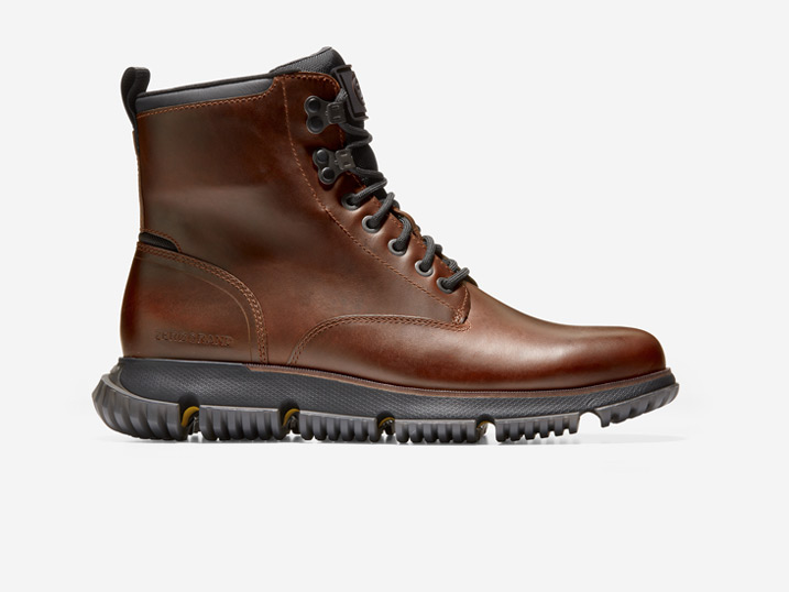 Cole Haan 4.ZERØGRAND City Boot WP Earthen Black