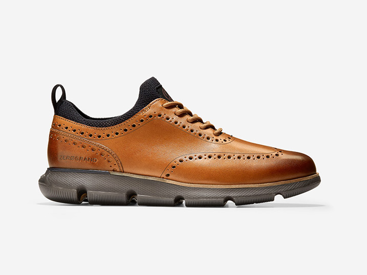 Cole Haan 4.ZerøGrand Oxford British Tan/Java