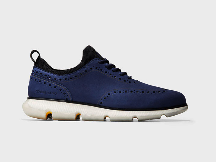 Cole Haan 4.ZERØGRAND Oxford Marine Blue Nubuck