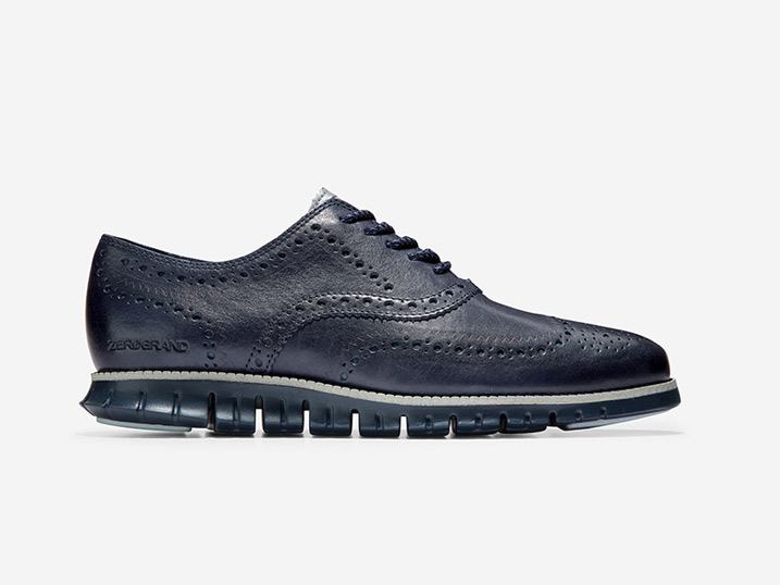 Cole Haan ZERØGRAND Wing Ox WP Marine Blue/Navy Ink
