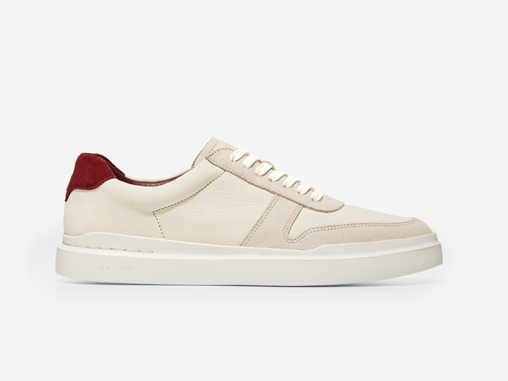 Cole Haan GrandPrø Rally Laser Cut Sneaker White