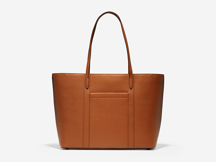 Cole Haan Handbag Zip Top Tote Britisch Tan