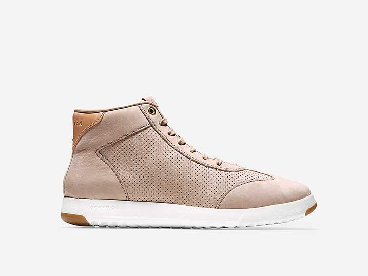 Cole Haan GrandPrø Hi Top Maple Sugar Nubuck