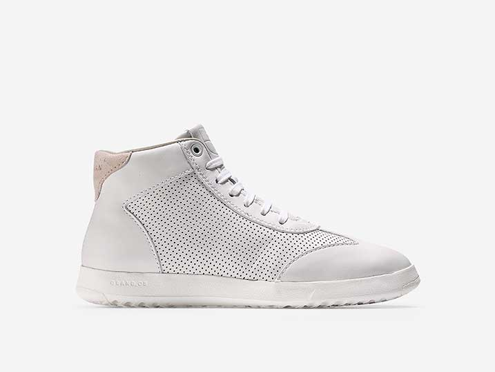 Cole Haan GrandPrø High Top White