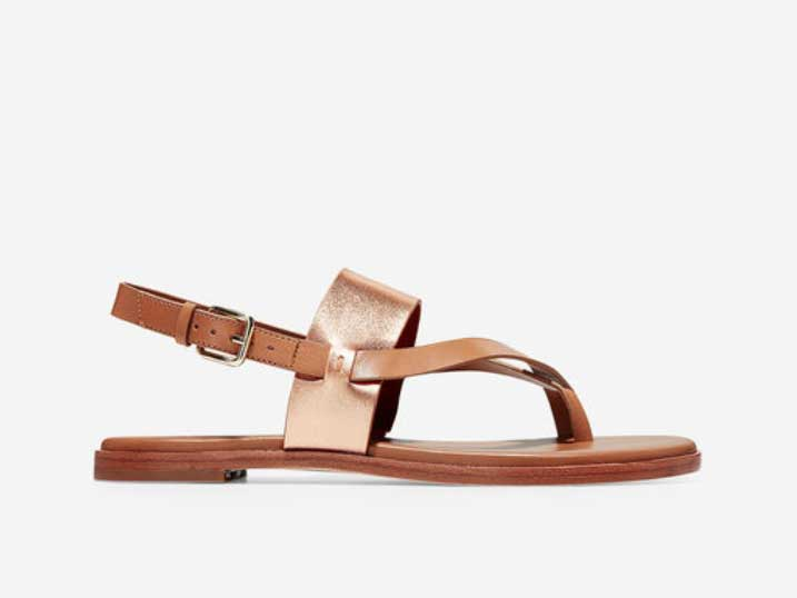 Cole Haan Sandaal Rose Gold Metallic