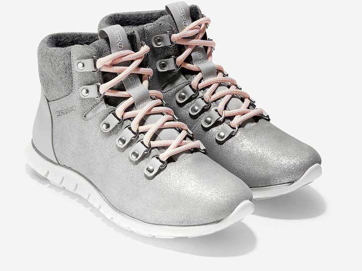 Cole Haan ZerøGrand Hikerboot Gray Argento WP