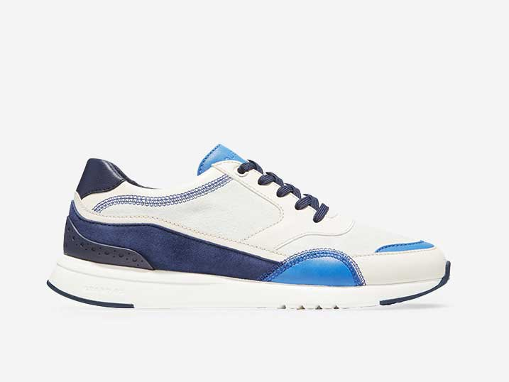 Cole Haan GrandPrø Layered Trainer Blue