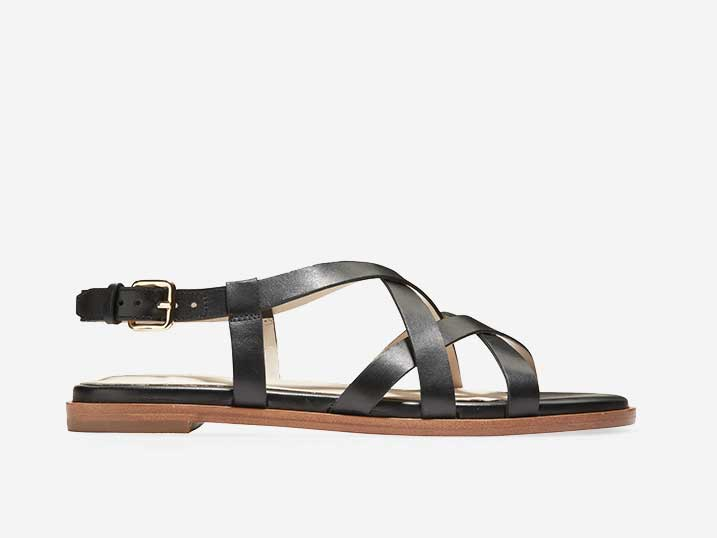 Cole Haan Analeigh Grand Strappy Sandal Black