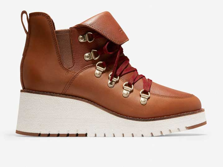 Cole Haan ZerøGrand Wedge Hiker WP Acorn