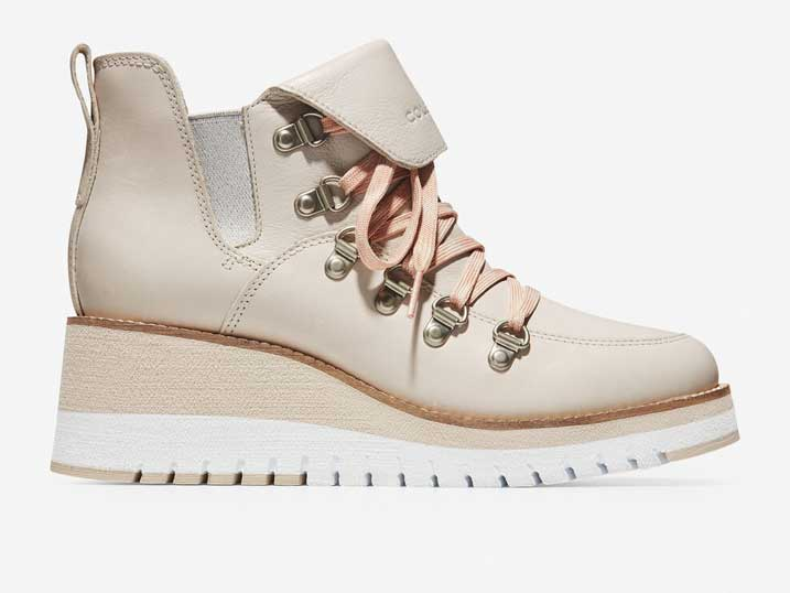 Cole Haan ZerøGrand Wedge Hiker WP Pumic