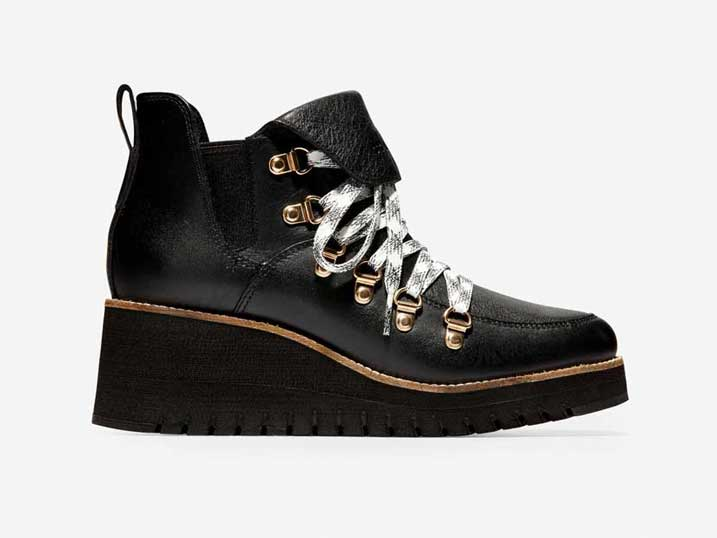 Cole Haan Zerøgrand Wedge Hiker WP Black