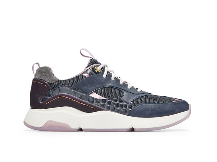 Cole Haan ZerøGrand City Trainer Ombre Blue/Blackberry