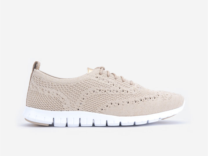 Cole Haan ZERØGRAND Stitchlite Oxford Safari Metallic